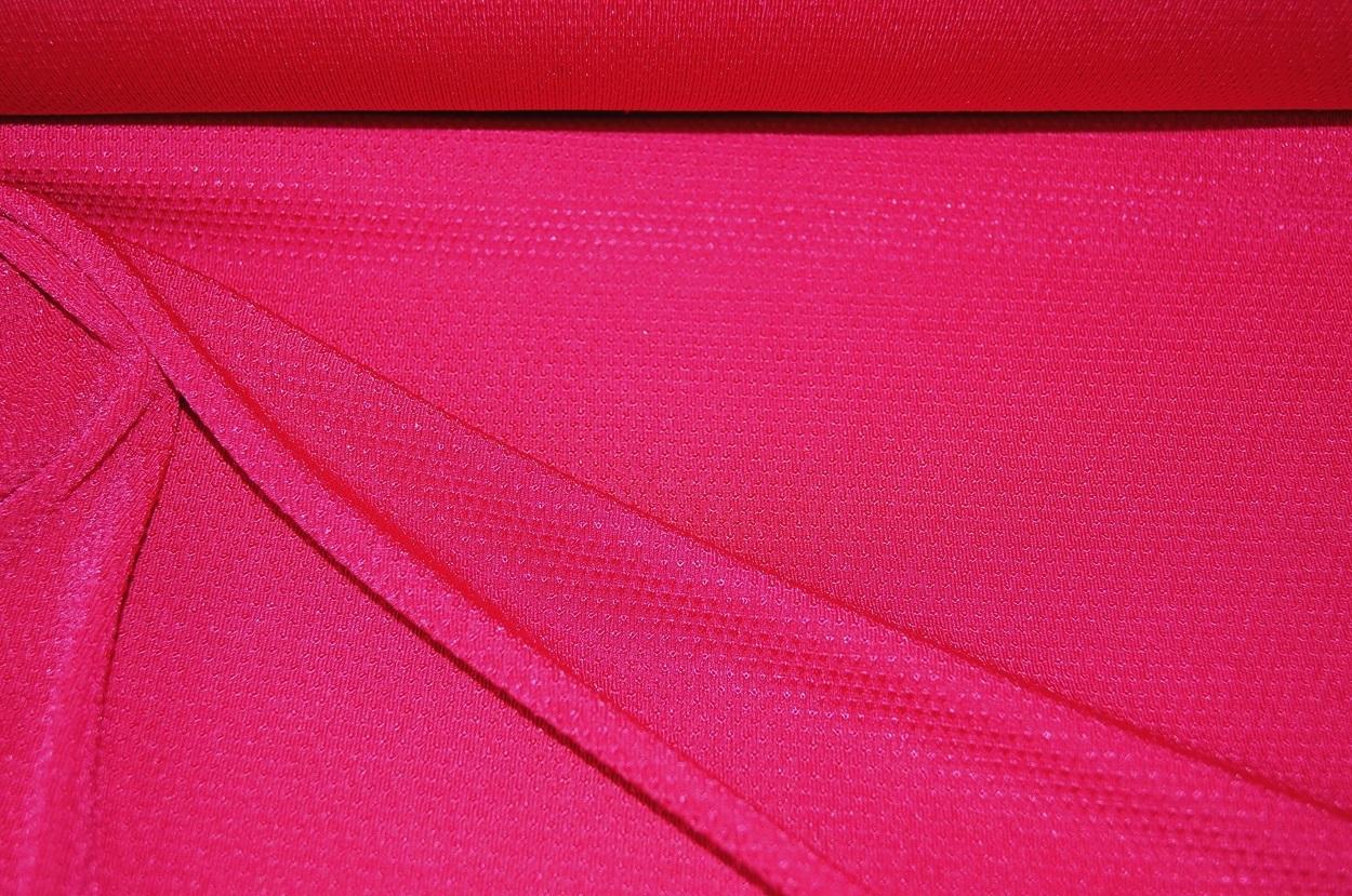 italienischer struktur jersey stoff pink 0174 ebay. Black Bedroom Furniture Sets. Home Design Ideas