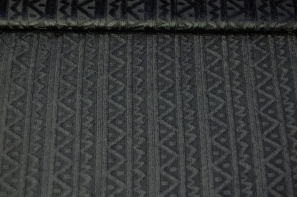 nicky jersey stoff schwarz ausbrenner stoffe aus italien. Black Bedroom Furniture Sets. Home Design Ideas