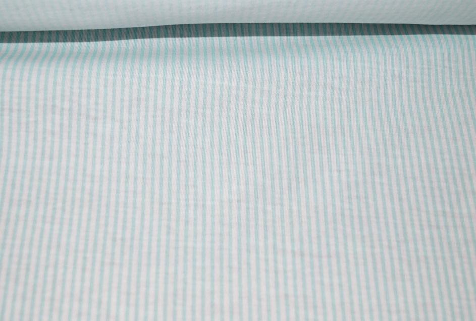 xxl jersey stoff weiss hellblau gestreift baumwolle 01131 ebay. Black Bedroom Furniture Sets. Home Design Ideas