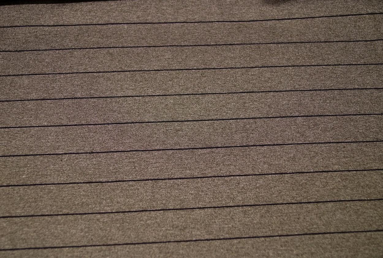 feinjersey jersey stoff grau braun gestreift. Black Bedroom Furniture Sets. Home Design Ideas