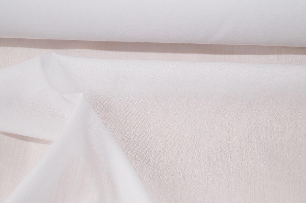 stoff meterware online blusenstoff kleiderstoff weiss d nn. Black Bedroom Furniture Sets. Home Design Ideas