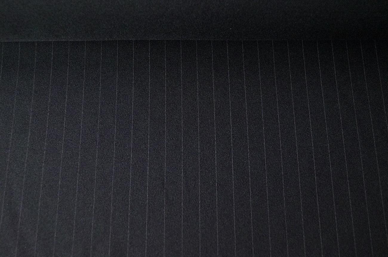 italienische stoffe hosenstoff schwarzgrau nadelstreifen. Black Bedroom Furniture Sets. Home Design Ideas