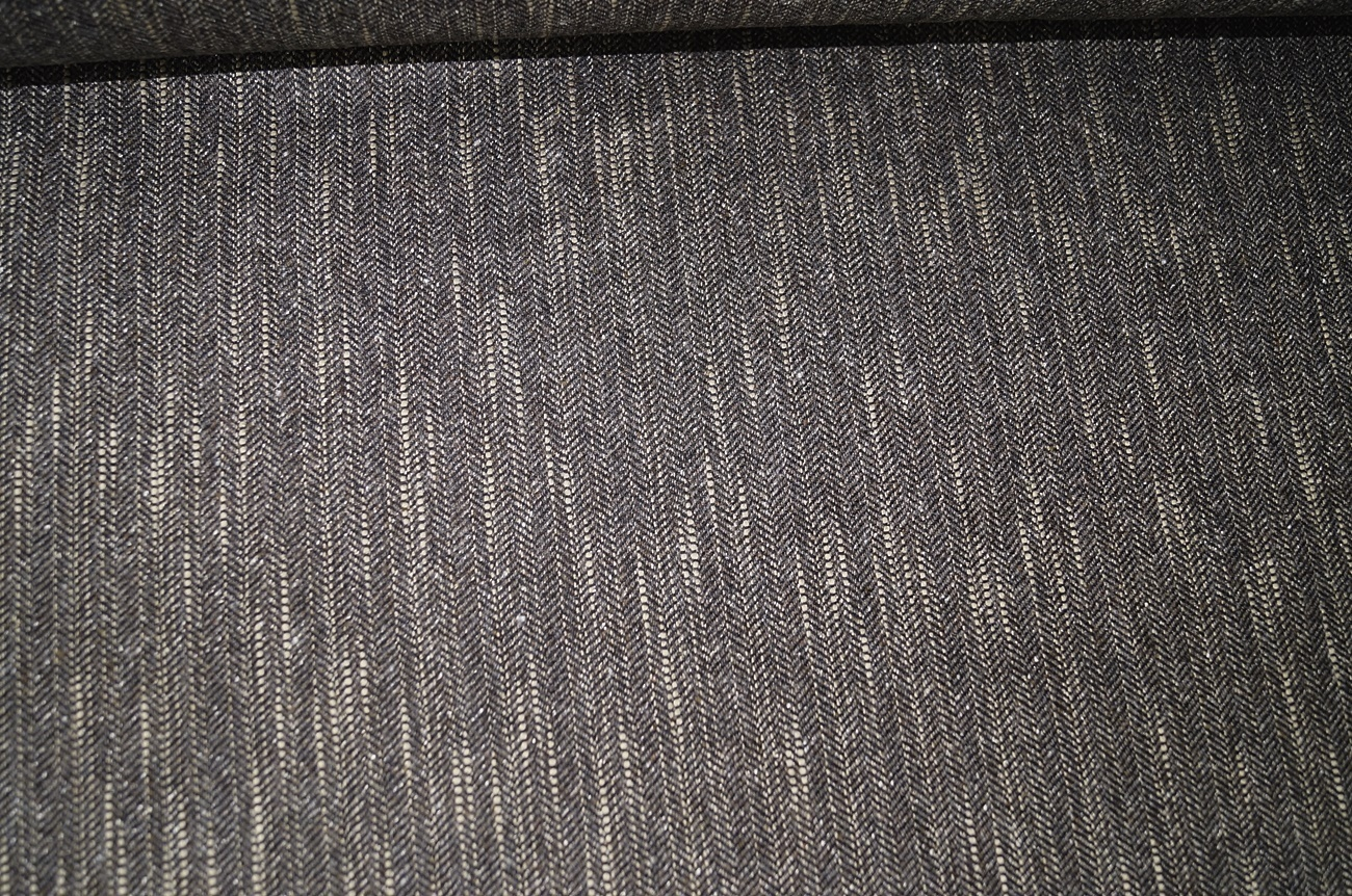 stoff aus wolle grau beige fischgrat 1811 ebay. Black Bedroom Furniture Sets. Home Design Ideas