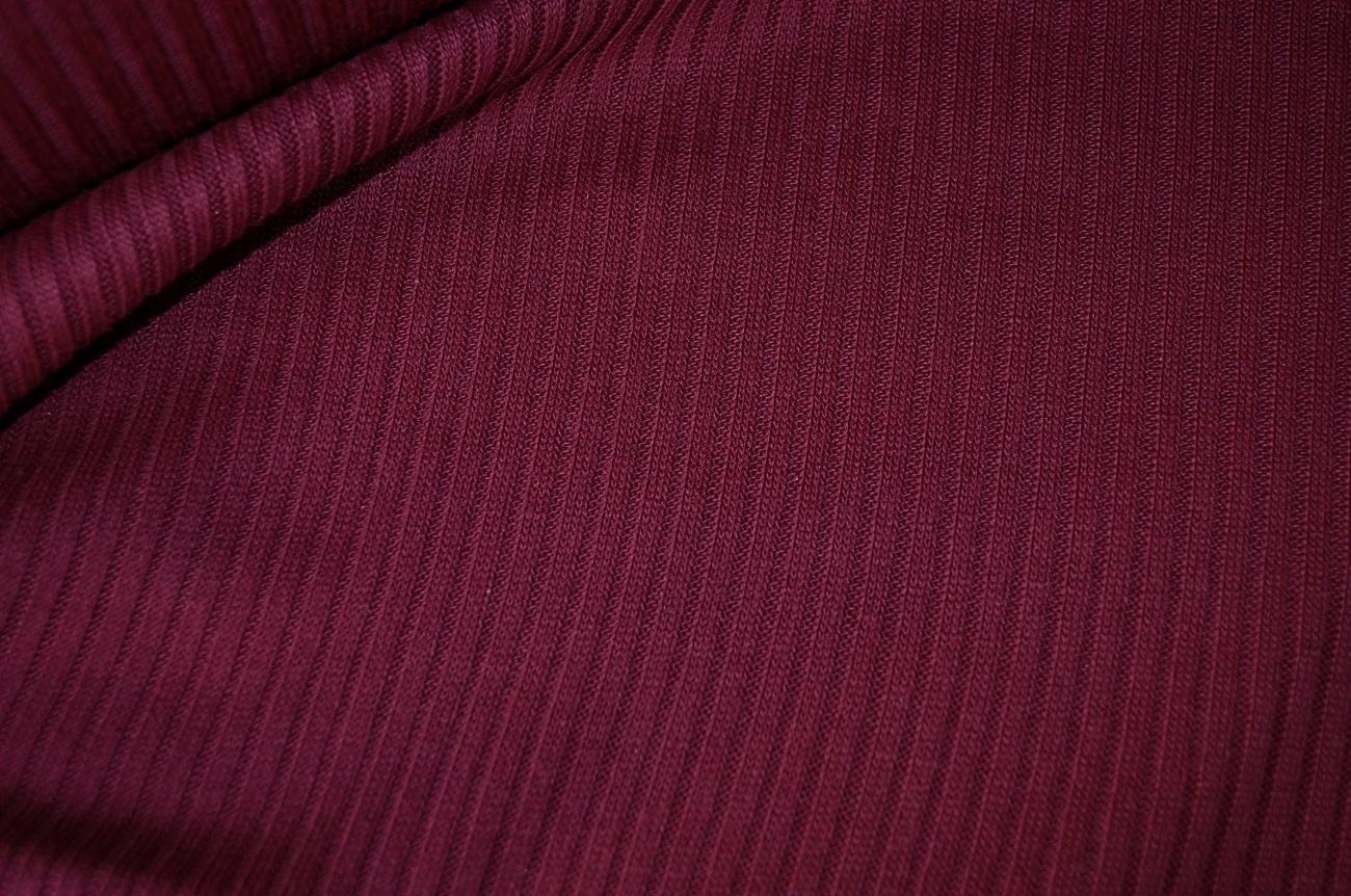 stoffe online kaufen rippenstrick stoff dunkel violett rot. Black Bedroom Furniture Sets. Home Design Ideas