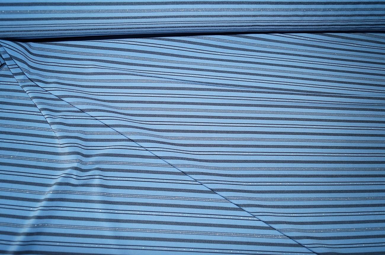 stoffe g nstig online kaufen jersey stoff hellblau gestreift. Black Bedroom Furniture Sets. Home Design Ideas
