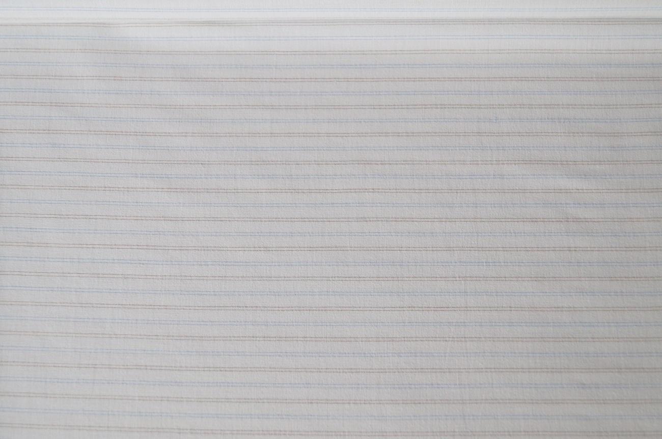 stoffe hemdenstoff kleiderstoff weiss gestreift blau braun. Black Bedroom Furniture Sets. Home Design Ideas