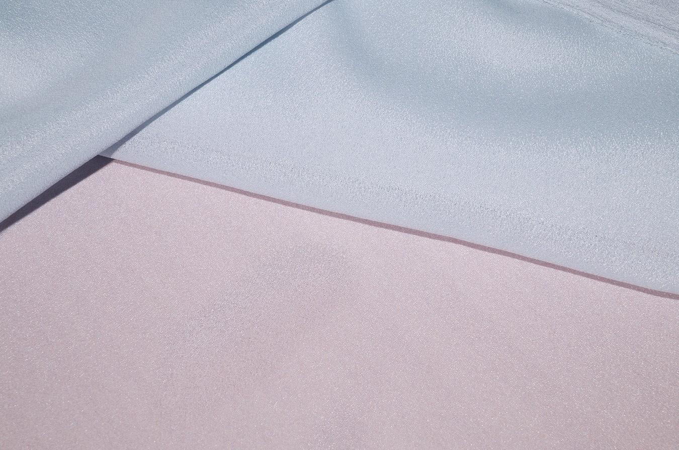 kleiderstoff hell graublau crepe struktur 02115 ebay. Black Bedroom Furniture Sets. Home Design Ideas