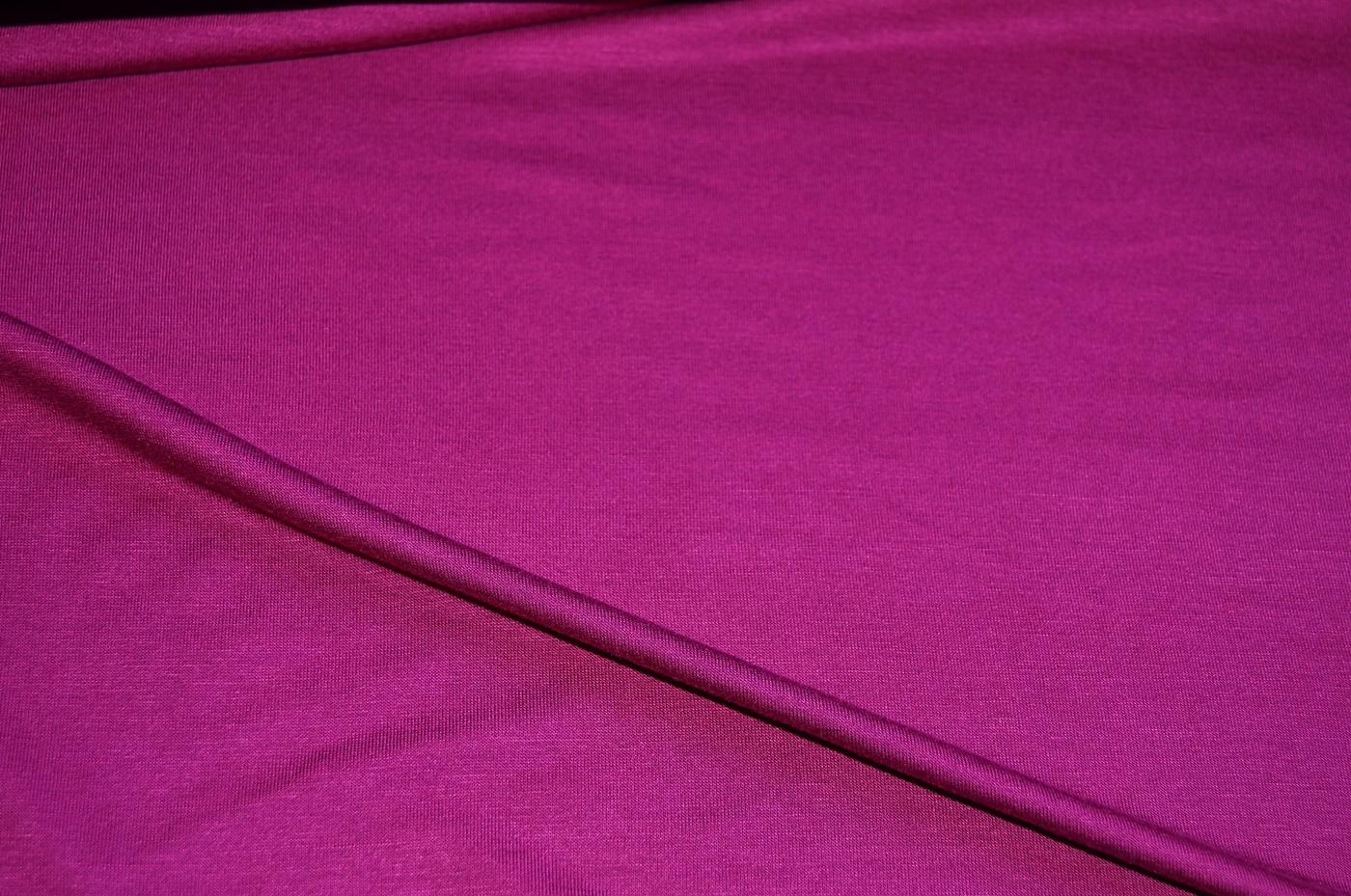 stoffe online kaufen xxl viskose jersey stoff dunkel pink. Black Bedroom Furniture Sets. Home Design Ideas