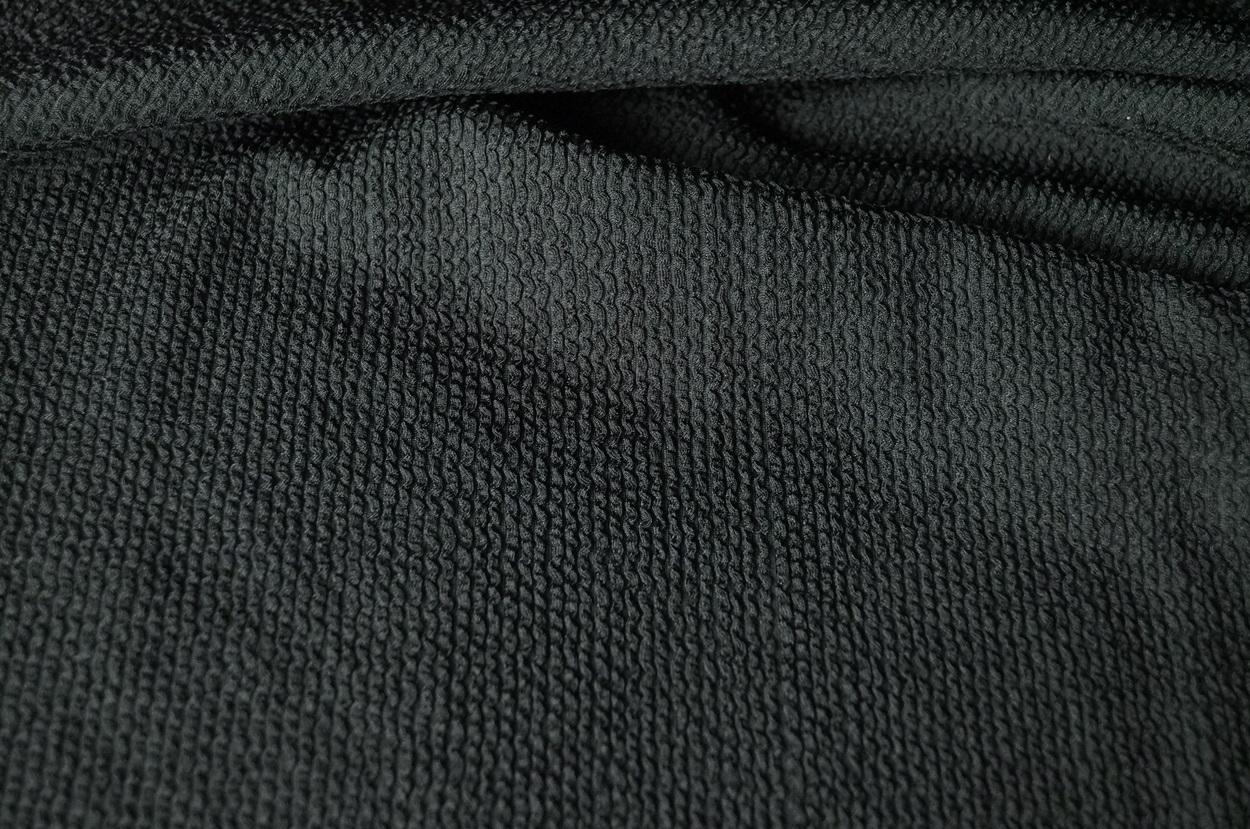 schlauch 0 50m plissee jersey schwarz schlauchstoff 13 98 m. Black Bedroom Furniture Sets. Home Design Ideas