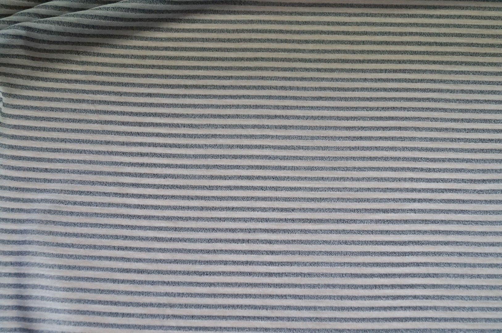 jersey stoffe jersey stoff grau fein gestreift wei. Black Bedroom Furniture Sets. Home Design Ideas