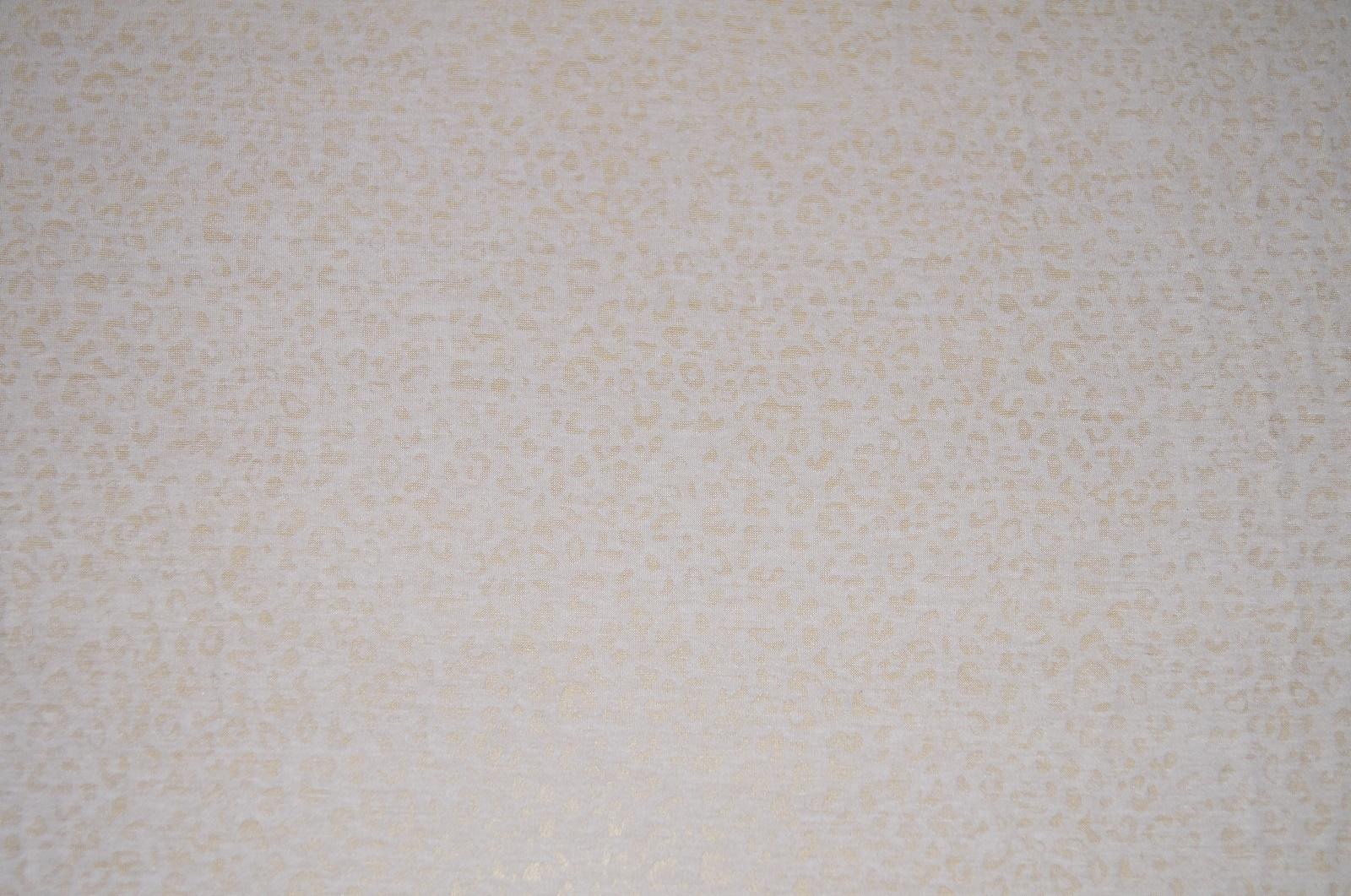 stoffe jersey stretch stoff wollweiss ausbrenner leomuster. Black Bedroom Furniture Sets. Home Design Ideas